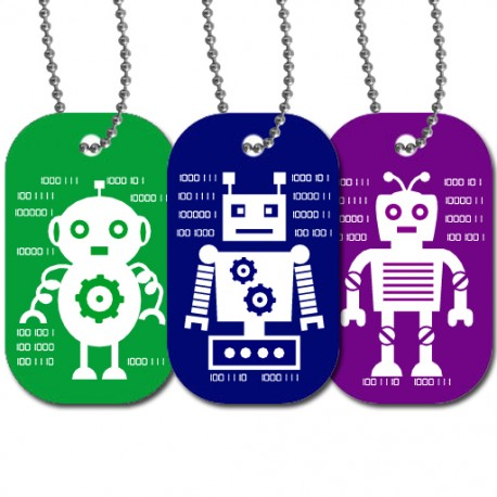 Travel Tag QRobot Set - Oxo + Deckard + Oscar