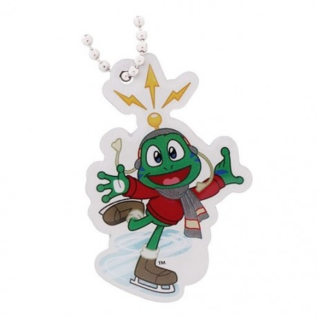 Signal the Frog® Winter Sports Travel Tag - Patinage