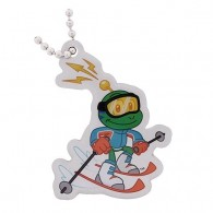 Signal the Frog® Winter Sports Travel Tag - Ski