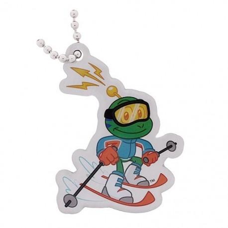 Signal the Frog® Winter Sports Travel Tag - Ski