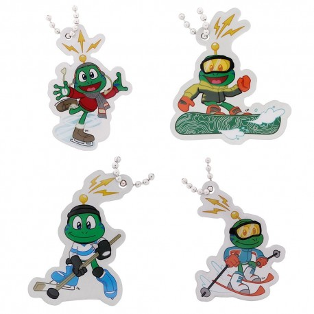 Signal the Frog® Winter Sports Travel Tag Set - Série complète