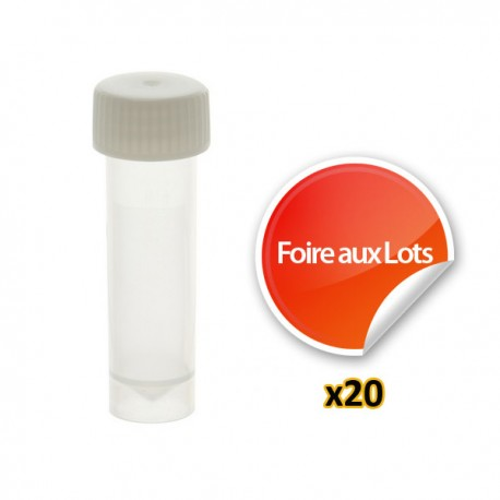 Nano Tube 5ml - Lot de 20