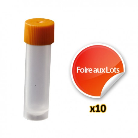 Cryotube 4ml - Lot de 10