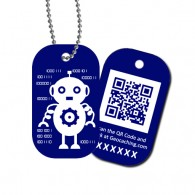 Travel Tag QRobot - Oxo
