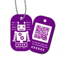 Travel Tag QRobot - Deckard