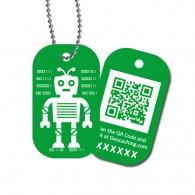 Travel Tag QRobot - Oscar