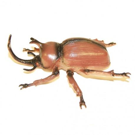 "Cache ""Créature"" Insecte - Gros Scarabée Rhinocéros"