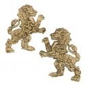 Steampunk Predators Geocoin - Lion