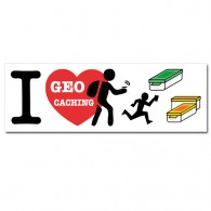Sticker I Love GC