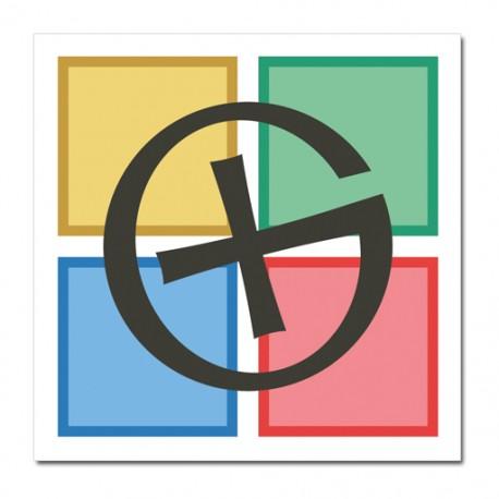 Sticker Logo GC