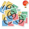 Stickers Logo GC - Lot de 20
