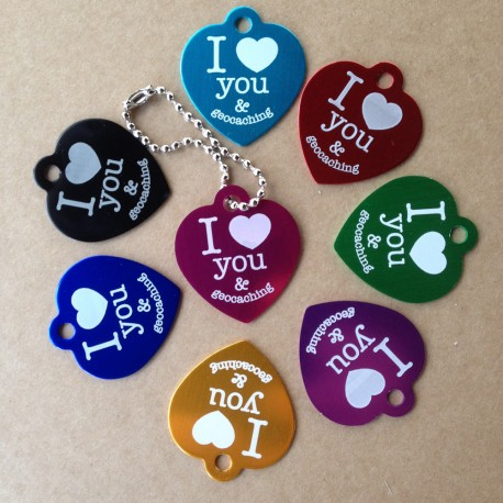 Travel Tag I love you