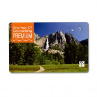 Carte d'abonnement PREMIUM Geocaching.com (1 An)