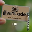 TwinCode x10 - Tag de remplacement pour traçables