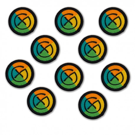 Petit Patch Geocaching - Lot de 10