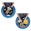 Planetary Pursuit Geocoin with Companion Tag