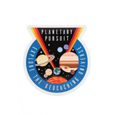 Planetary Pursuit Sticker