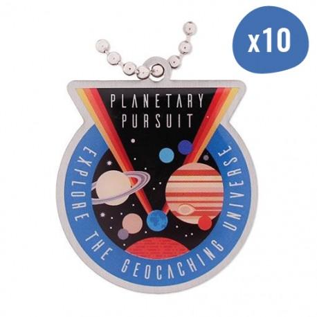 Planetary Pursuit Travel Tag x10
