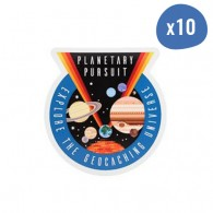 Planetary Pursuit Sticker - Lot de 10
