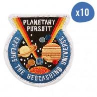 Planetary Pursuit Patch - Lot de 10