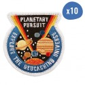 Planetary Pursuit Patch - Lot de 10