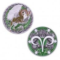 Zodiac Geocoin - Aries (Bélier)