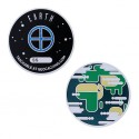 Solar System Geocoin - Earth
