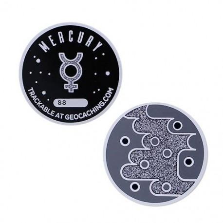 Solar System Geocoin - Mercury