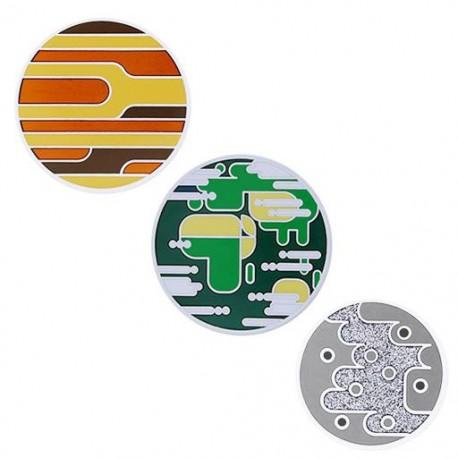 Solar System Geocoin Set - Mercury, Venus, Earth