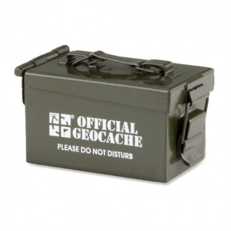 Micro Ammo Can Cache Container