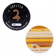 Solar System XL Geocoin - Jupiter