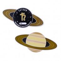 Solar System Geocoin - Saturn