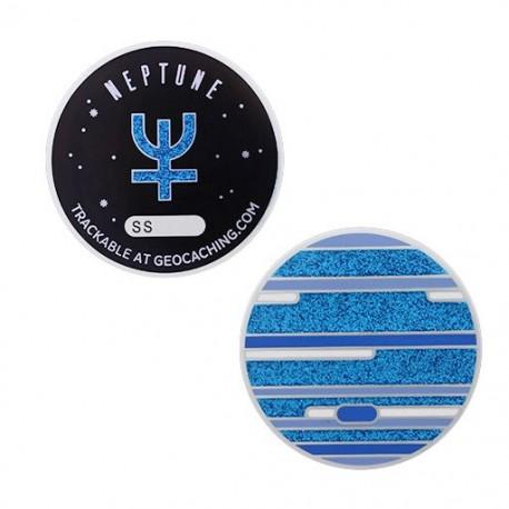 Solar System Geocoin - Neptune
