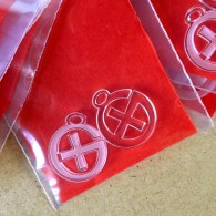 Pendentifs logo Geocaching - Lot de 2