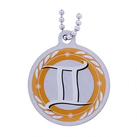 Zodiac Travel Tag - Gemini (Gémeaux)