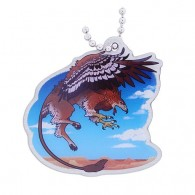 Hidden Creatures Travel Tag - Gryphon