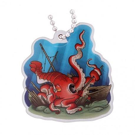 Hidden Creatures Travel Tag - Kraken