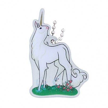 Hidden Creatures Travel Tag - Unicorn