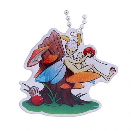 Hidden Creatures Travel Tag - Fairy