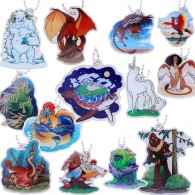 Hidden Creatures Travel Tag Full Set - Lot de 13 Travel Tags