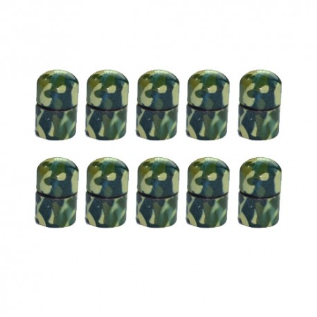 Nano Cache aimantée Camouflage x10 - Green Light