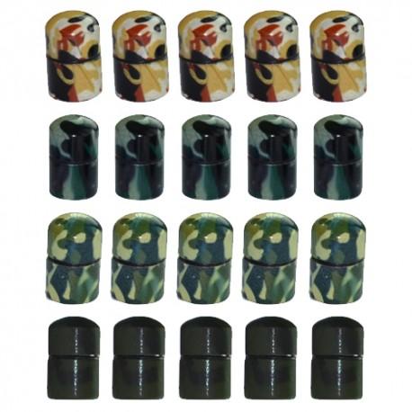 Nano Cache aimantée Camouflage x20 - Mix