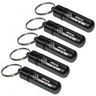 """Micro Capsule """"Official Geocache"""" 5,2cm x5 - Noir"""
