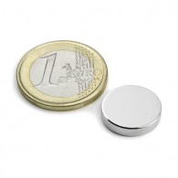 Magnets Disque 15x3mm - Lot de 2