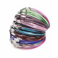 Câble acier à visser 23cm (Mix Couleur) - Lot de 5