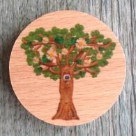Géocoin en bois - FUNNY TREE