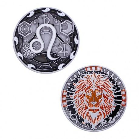 Zodiac Geocoin - Leo (Lion)
