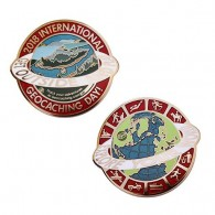 2018 International Geocaching Day Geocoin