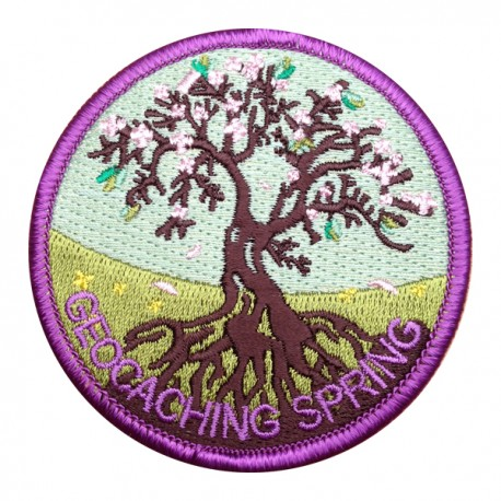 Patch Geocaching Quatre Saisons - Spring