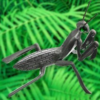 Praying Mantis - antique silver (LE 100)
